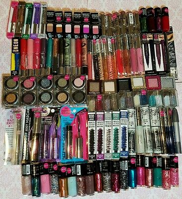 100 Hard Candy Wholesale Makeup Lot * Eyes/Nails/Lips * NEW & GREAT CONDITION !!