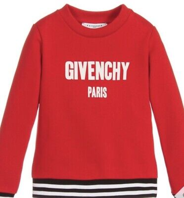 GIVENCHY Kids Red Sweatshirt