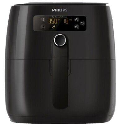 Unopened New Philips Premium (1.8lb/2.75qt) Digital Airfryer - HD9741/96 BLACK