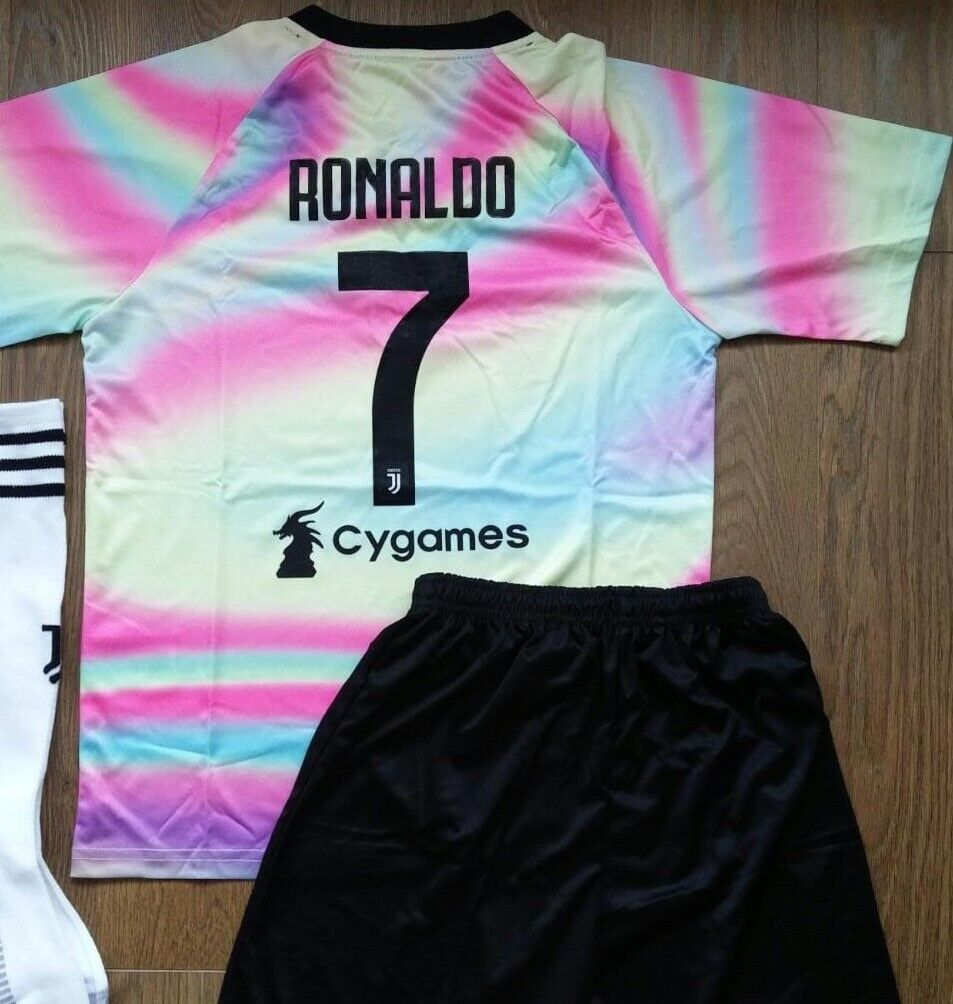 premium selection 0e807 39eaf Kids Juventus Ronaldo #7 Football Kit Juventus Kit & Socks Size 7-8 Years |  in Ballymena, County Antrim | Gumtree
