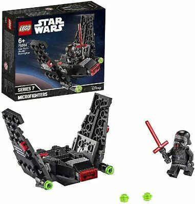 LEGO Star Wars Kylo Ren's Shuttle Microfighter Building Set Foldable Wings Play