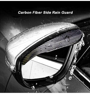 For Audi Models Mirror Rain Visor Smoke Guard Side Exterior Mirrors Accessories