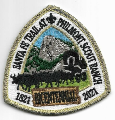 PHILMONT SCOUT RANCH * 1821-2021 * 200th ANNIVERSARY OF THE SANTA FE TRAIL