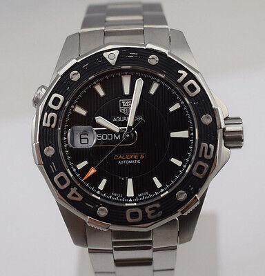 TAG Heuer Aquaracer Calibre 5 Automatic 500m Diver Watch WAJ2110