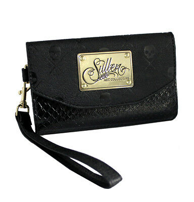 Icon Womens Wallet (Sullen Clothing Womens iPhone 6 Black Snake Icon)