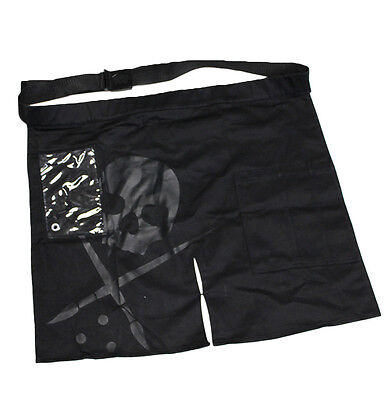 Sullen Clothing Tattoo Artist Work Skull Punk Rocker Goth Smock Apron SCA0086