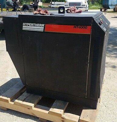 Hypertherm 400 Amp 100 Dc. Ht-4000 Plasma Cutting System Master Power Source
