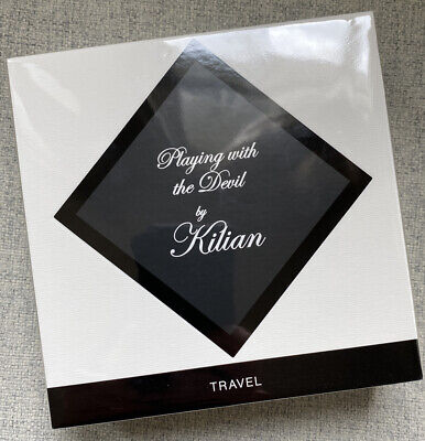 NEW AND SEALED KILIAN Playing With The Devil EDP 7.5mlx4 1xTravel Spray RRP £120