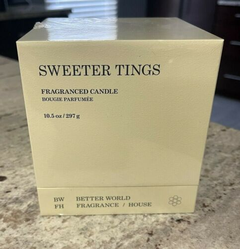 """Drake's Better World Fragrance House """"Sweeter Tings"""" Scented Candle OVO"""