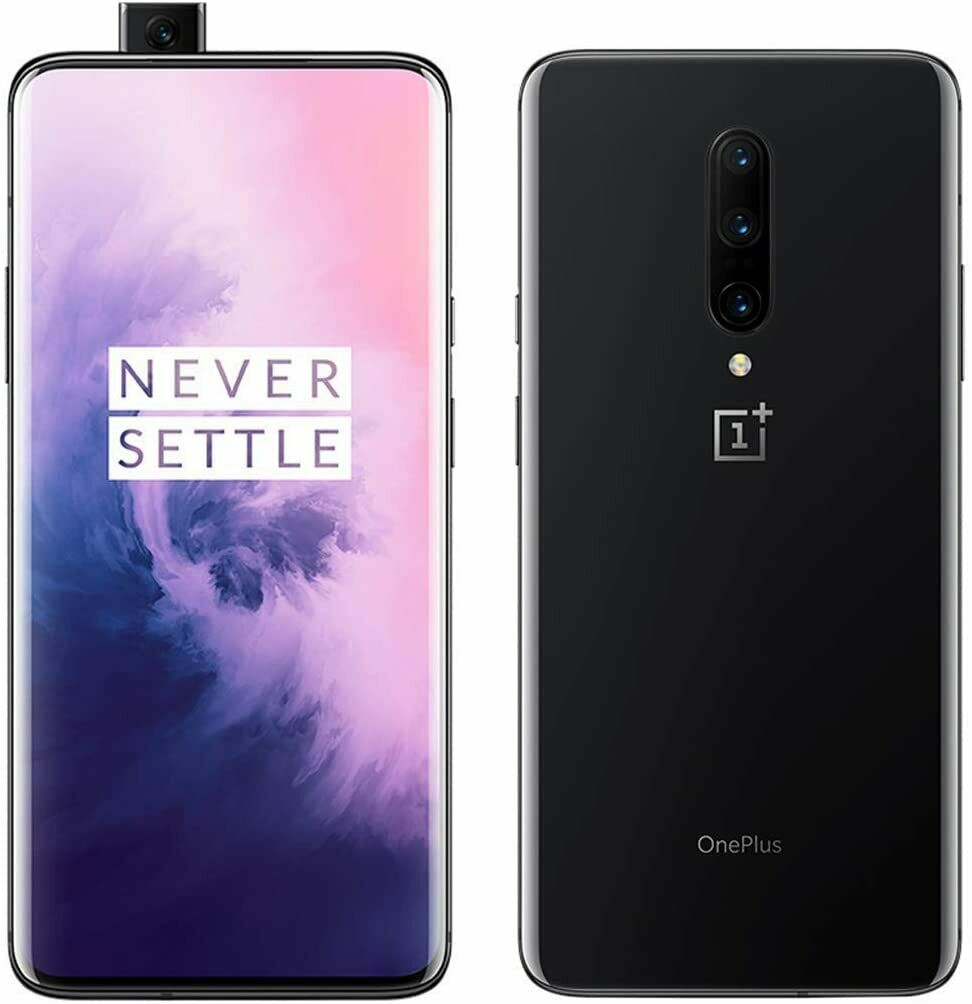 Android Phone - Oneplus 7 Pro - GM1915 - Metallic Black/Blue - 256GB - Unlocked