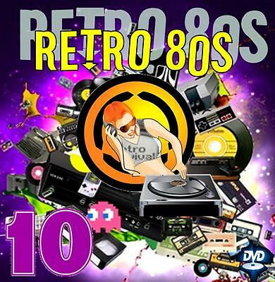 Dj Video Mix - RETRO 80s 10 - 80 Minutes of Classic Hits!!!!! 1980 - '89 Hits