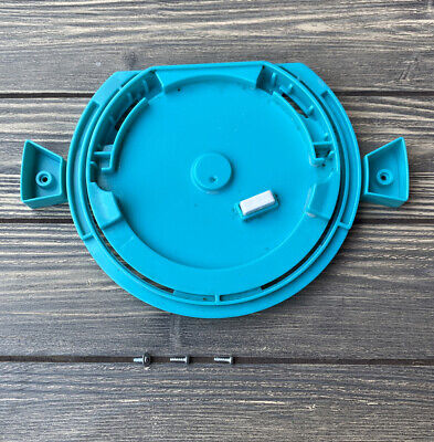 2012 Barbie Dream House Replacement Part Piece Teal Round Spinning Base