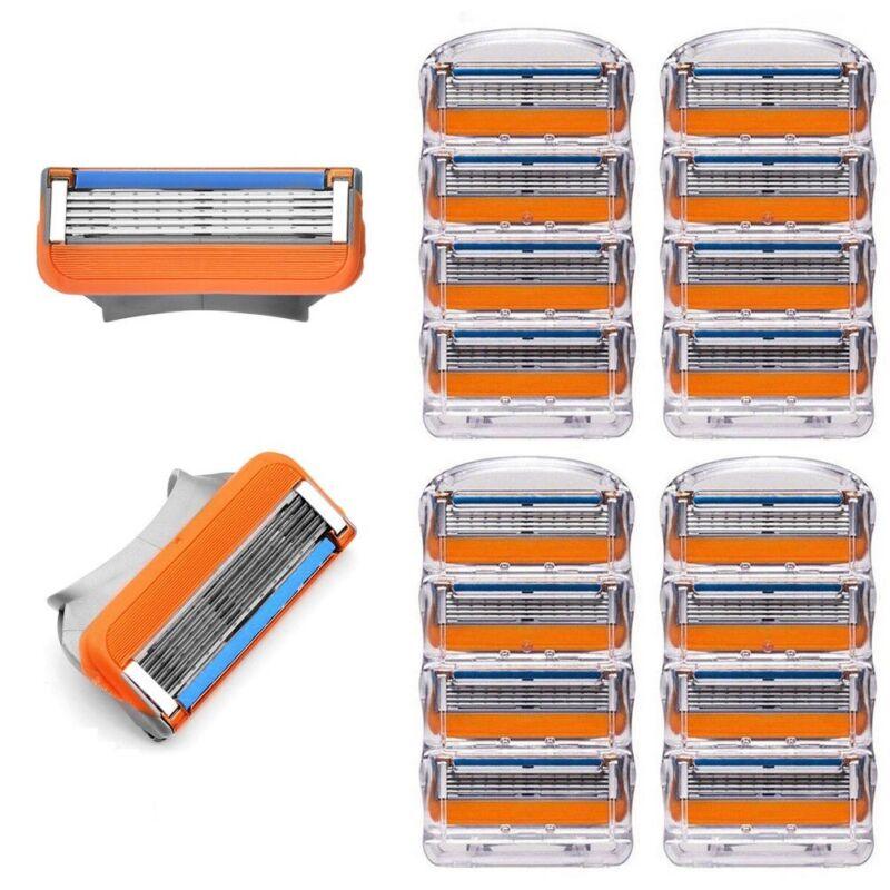 16xStück Ersatzklingen Rasierklingen Klingen für Gillette Fusion Proglide Power