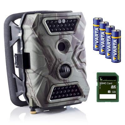 Wildkamera / Fotofalle: SECACAM Wild-Vision Überwachungskamera, 40 Black-LEDs