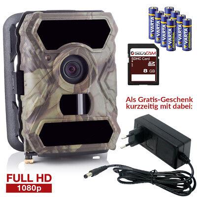 Wildkamera Überwachungskamera SecaCam HomeVista Full HD, 100° + GRATIS NETZTEIL