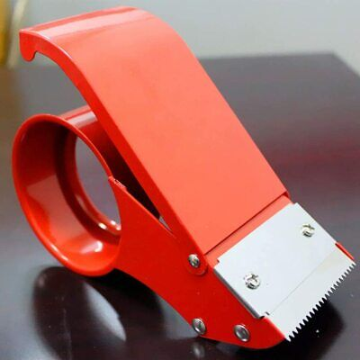 Packing Tape Dispenser Easy-mount Tape Gun Packaging Sealing Cutter Handheld 2pc