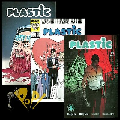 For sale PLASTIC #1 Cover A B & April FOOLS Variant Set SOLD OUT Image Comics SEX Doll NM