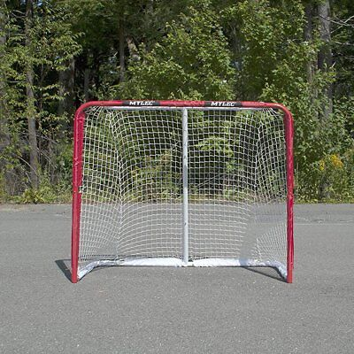 Steel Hockey Goal - Field Hockey Practice Goal Steel Sport Game Net Play Street Ice In Out Door New