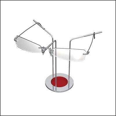 Optical Display - Disc Frame Holder - Red