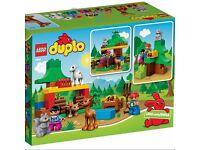 NEW LEGO DUPLO (10582) FOREST ANIMALS NEW originally packed with instructions, without cardboard