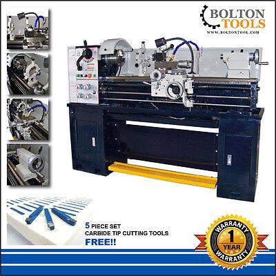 14 X 40 Precision Tool Room Metal Lathe Bt1440-1 1-phase Power