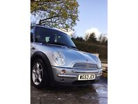 Mini one car, 1.6L petrol. Need sold quickly