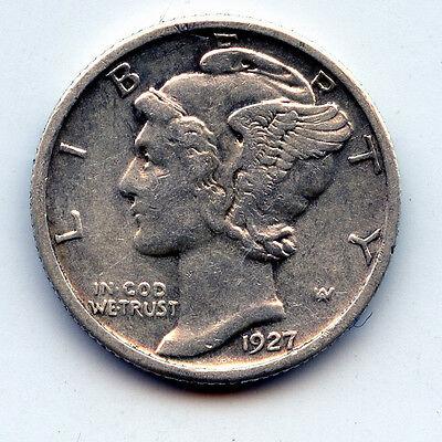 1927-P MERCURY DIME  SEE PROMO