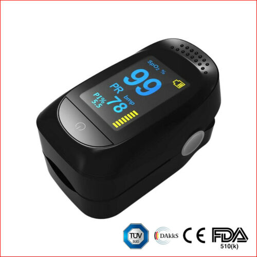 Fingertip Pulse Oximeter FDA 510k Class II Digital Oxygen Saturation PR Monitor