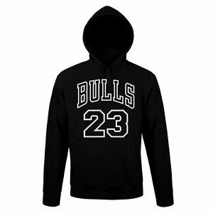 Felpa-Cappuccio-CHICACO-BULLS-Sweatshirt-rock-Hoodie-Urban-JORDAN-MICHEAL-NBA