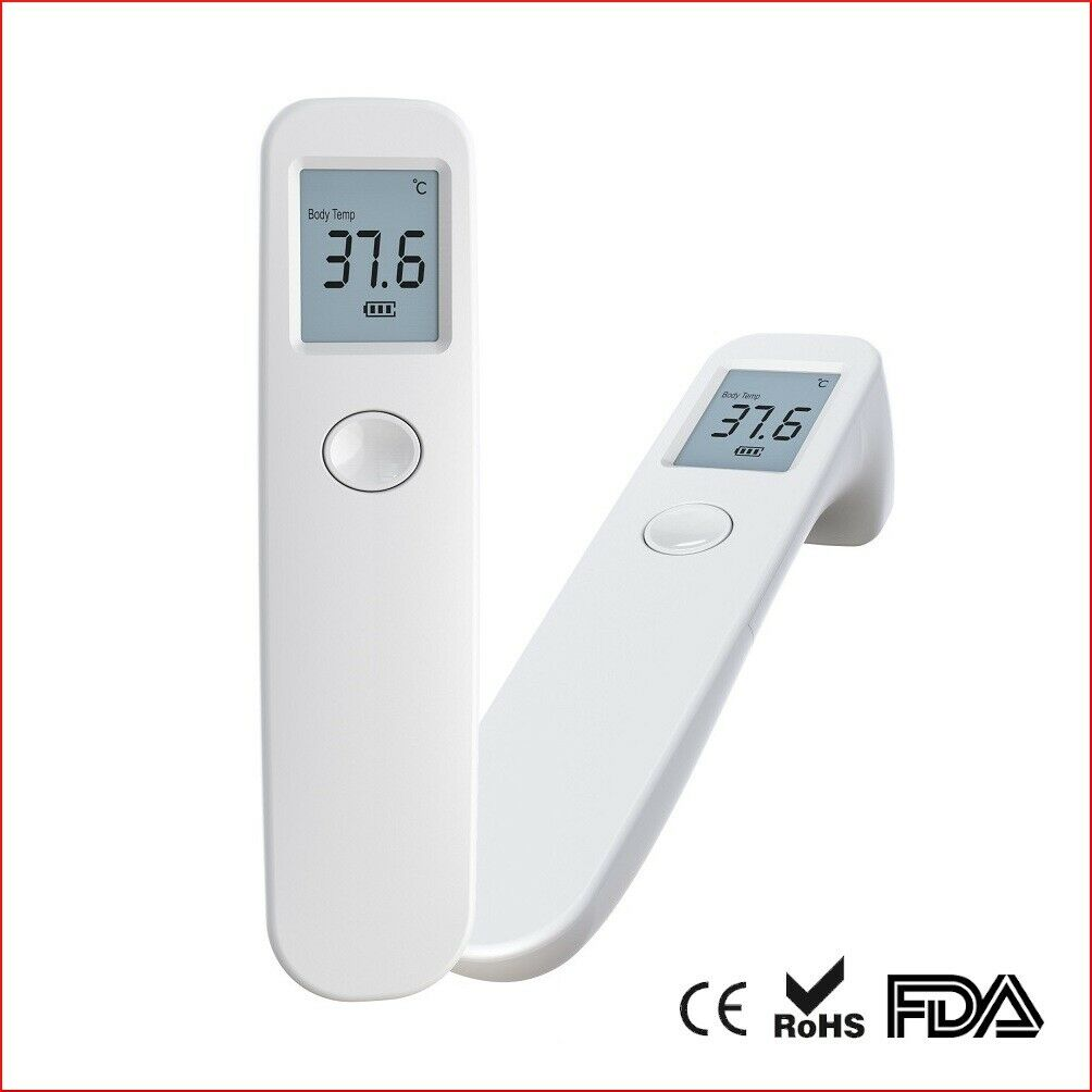 Non-Contact Digital Infrared Forehead Thermometer Berryku Med Grade 1s Accurate