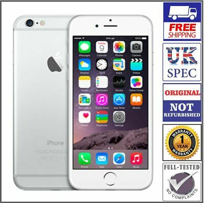 Apple iPhone 6 - 32GB - Silver (Unlocked) Smartphone - Original