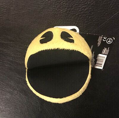 Yellow Pac-Man Plush With Sound Official Factory Toy Doll Figure Pacman Arcade