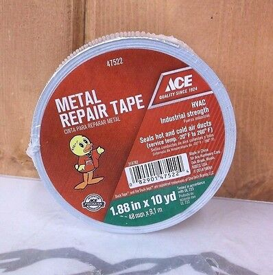 Hvac Metal Repair Aluminum Foil Tape 1.88 X 10 Yards New Free Shipping