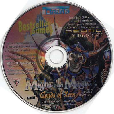 Might and Magic 4 Clouds of Xeen - CD aus Bestseller
