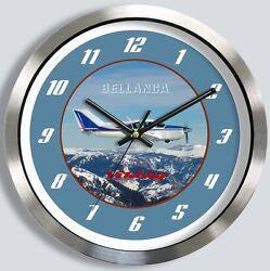 BELLANCA 17-30 VIKING METAL WALL CLOCK 17 30