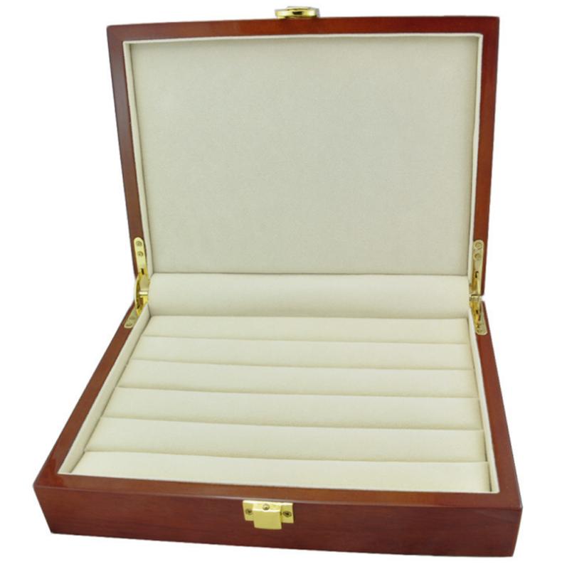 Ring Display Organizer Jewelry Storage Box Tray Holder With