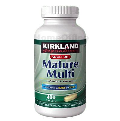 Kirkland Signature Adult 50+ Mature Multi Vitamins & Minerals, 400
