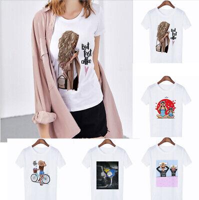 Wholesale Fashion Women's Casual T-shirt Short Sleeve Round Neck T-Shirts