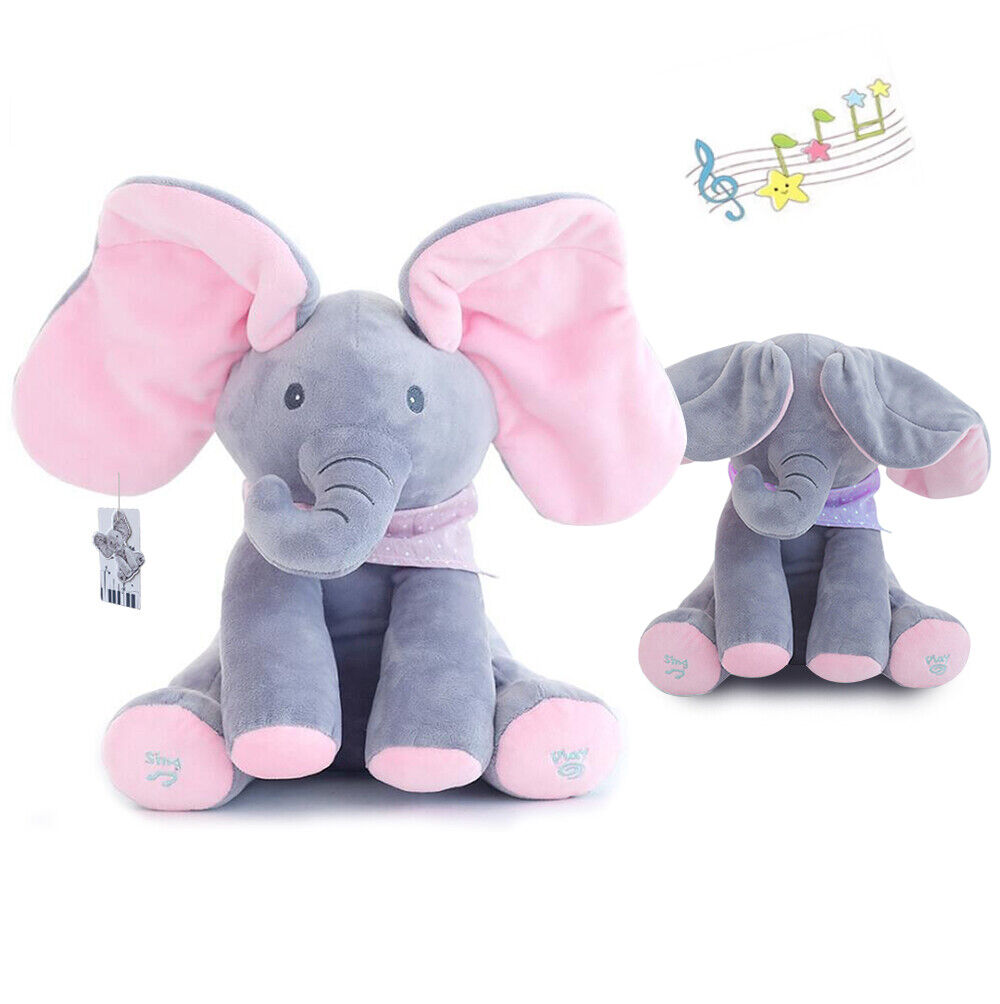 Flappy Ear The Elephant Peek-a-boo Interactive Sing and Play