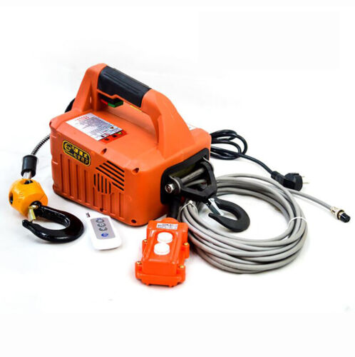 Portable Electric Winch Electric Lifting Traction Hoist Electric Hoist 500KG