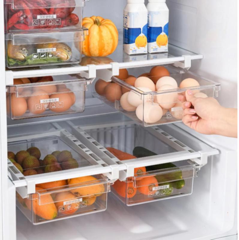 Refrigerator Food Storage Holder Box Rack Fridge Drawer Shel