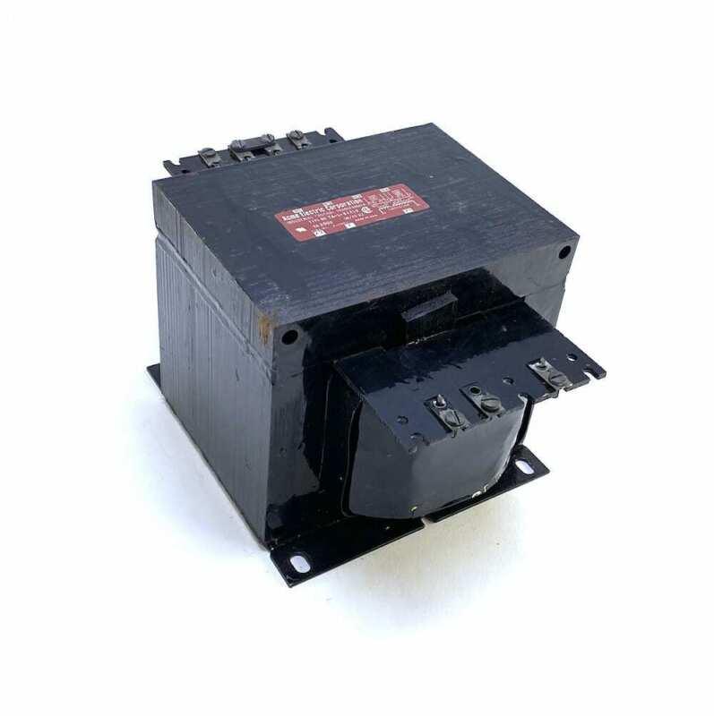 ACME TA-1-81219 2 KVA Pri-240/480V Sec-120V Control Transformer