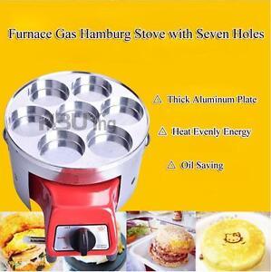New LP Gas Hamburg Furnace for 7 Holes Egg 134150