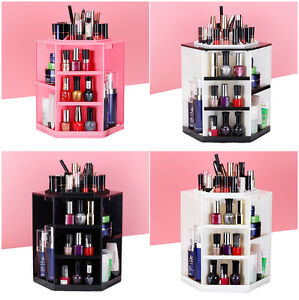 360-Degree-Rotating-Makeup-Storage-Box-Case-Cosmetics-Jewelry-Organizer-Holder