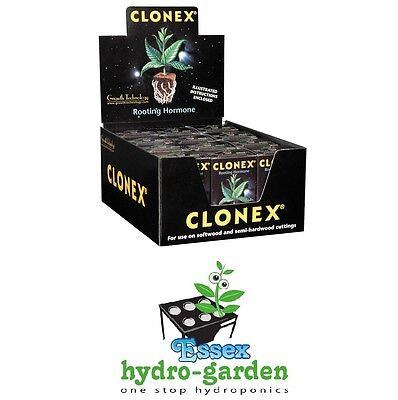 CLONEX Rooting Hormone Box of 12 50ml Bottles (New Fresh Batches)