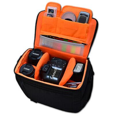 Kamera Tasche f. CANON EOS 4000D 2000D Fototasche bis 1-3 Objektive + Blitz NEU Canon Eos Taschen