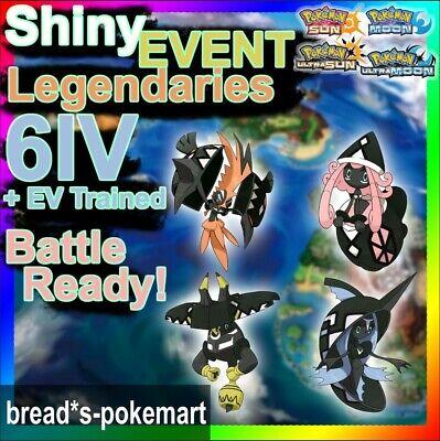 Shiny Legendary Event Tapu Koko, Lele, Bulu, Fini | Pokemon Ultra Sun & Moon 3DS