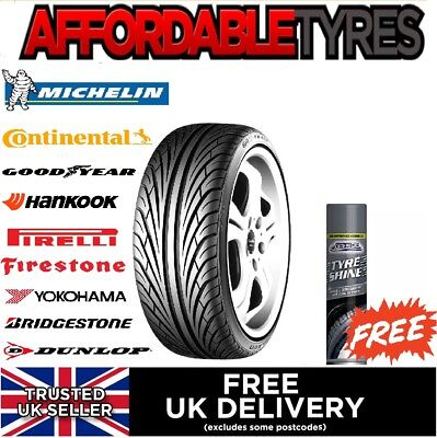 1x 2055015 86V REGAL R.S V-240 5MM TREAD  205 50 15
