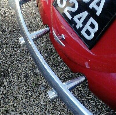 Escape Cola Tubos Para VW Escarabajo Ghia Acero Inoxidable Cónico AAC125
