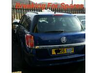 Breaking For Spares Vauxhall Astra Estate 1.8 Petrol Z18XER